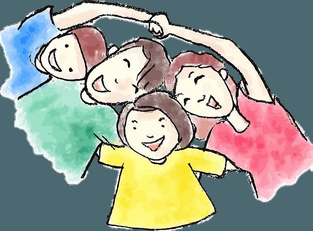 Glad og sund familie med QiGong